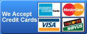 Garage Door Repair Burien accepts all major credit cards